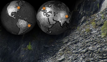 Globes and Quarry Image