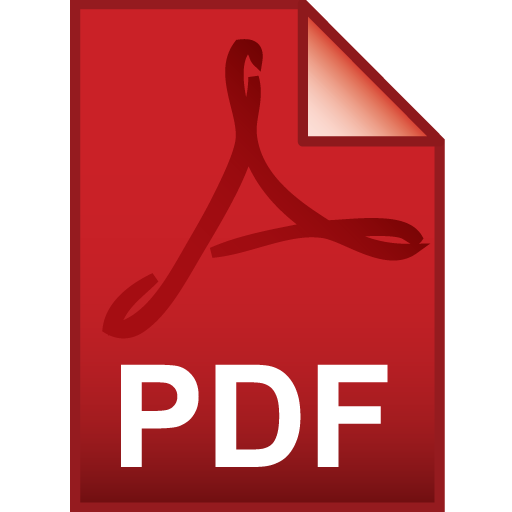 Icon for a pdf file.